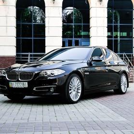 BMW 520d Luxury Line - авто на свадьбу в Полтаве - портфолио 1