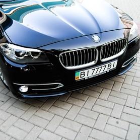 BMW 520d Luxury Line - авто на свадьбу в Полтаве - портфолио 4