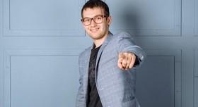 Давид Бобров - ведущий в Полтаве - фото 1