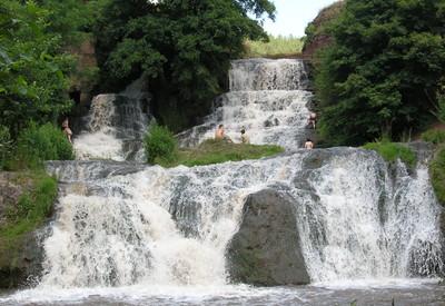 Джуринский водопад - фото 1