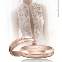 Ювелирный бренд DIAMOND of LOVE - обручальные кольца в Киеве - фото 2
