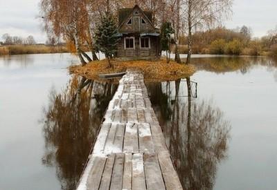 Охотничий домик на острове Любви - место для фотосессии в Житомирской области - портфолио 6