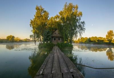 Охотничий домик на острове Любви - место для фотосессии в Житомирской области - портфолио 5