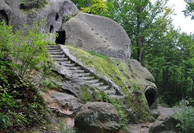 Скальный монастырь в Розгирче - место для фотосессии в Львовской области - портфолио 4