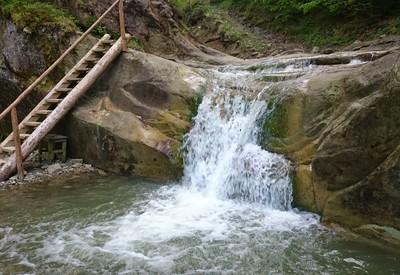 Водопады в Ростоках - место для фотосессии в Черновицкой области - портфолио 1