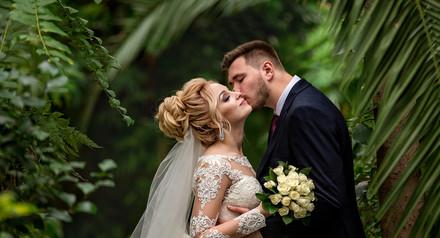 20% скидки на свадебную съемку на даты 9, 16 марта.