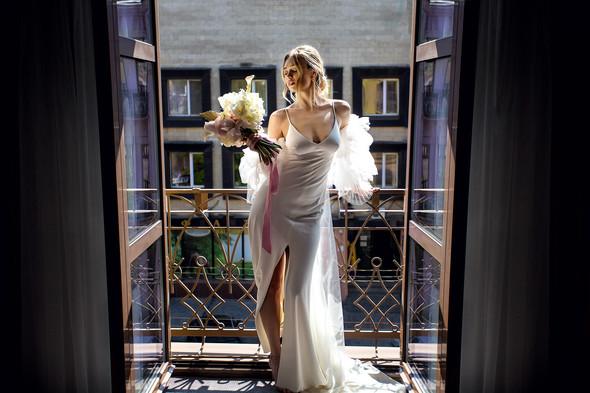 Классическая свадьба Лизы и Артема - фото №15