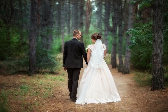 Классическая свадьба Кати и Стаса - фото №25