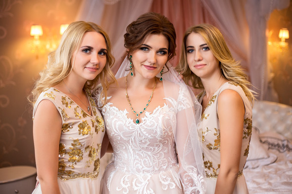 Классическая свадьба Кати и Стаса - фото №8