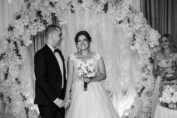 Классическая свадьба Кати и Стаса - фото №41
