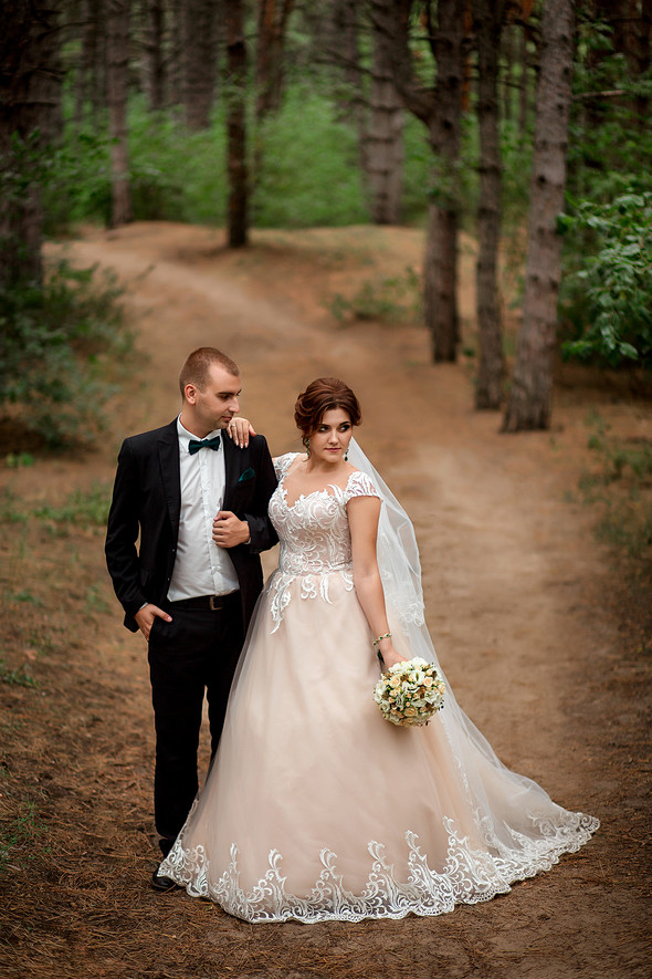 Классическая свадьба Кати и Стаса - фото №26
