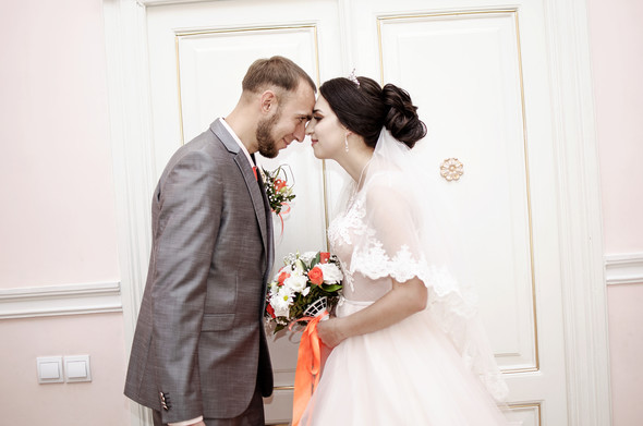 Оранжевая свадьба - фото №13