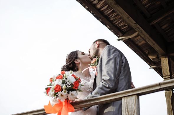 Оранжевая свадьба - фото №70