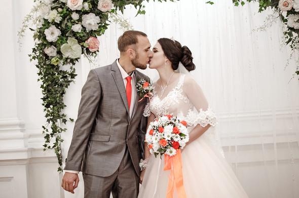 Оранжевая свадьба - фото №19