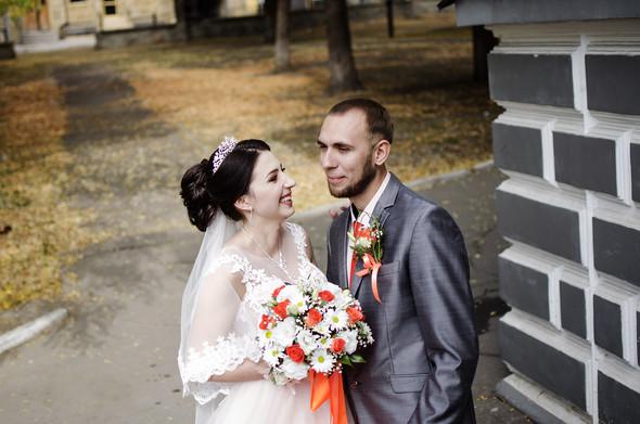Оранжевая свадьба - фото №9