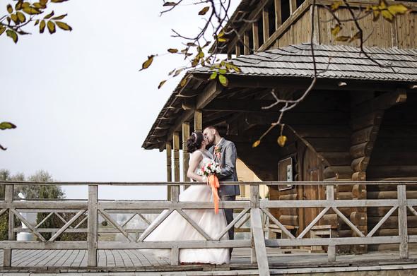 Оранжевая свадьба - фото №69