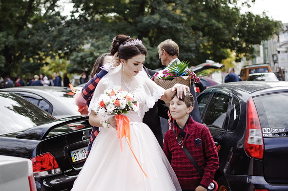 Оранжевая свадьба - фото №6