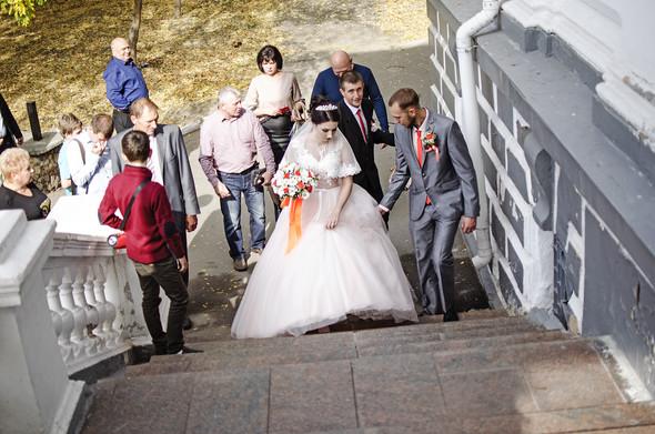 Оранжевая свадьба - фото №11