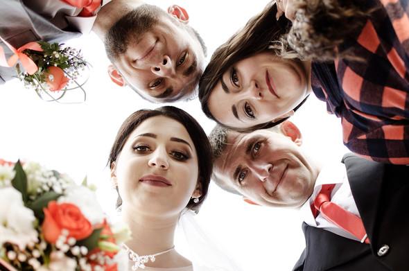 Оранжевая свадьба - фото №66