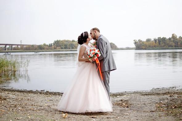 Оранжевая свадьба - фото №64