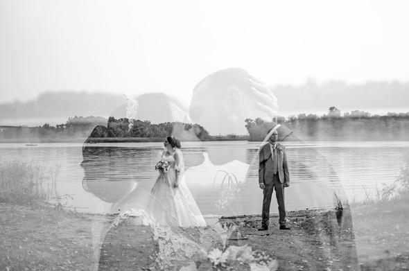 Оранжевая свадьба - фото №62