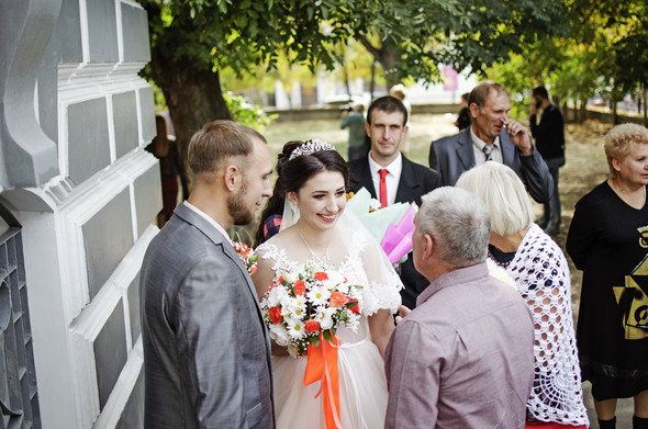 Оранжевая свадьба - фото №31