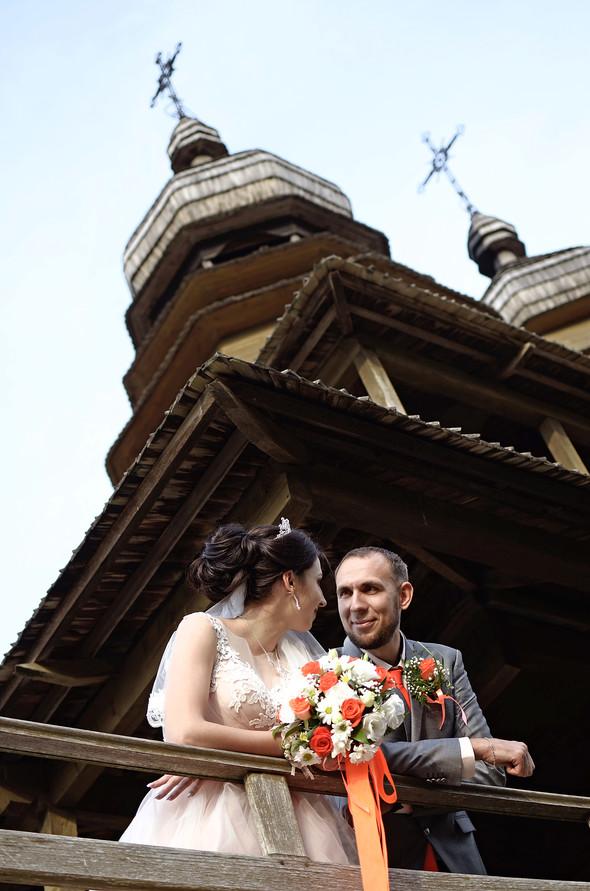 Оранжевая свадьба - фото №68