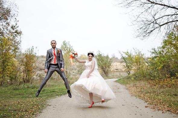 Оранжевая свадьба - фото №61