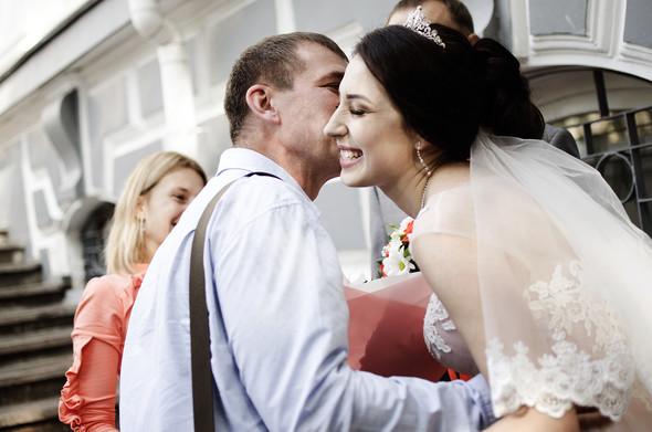 Оранжевая свадьба - фото №32