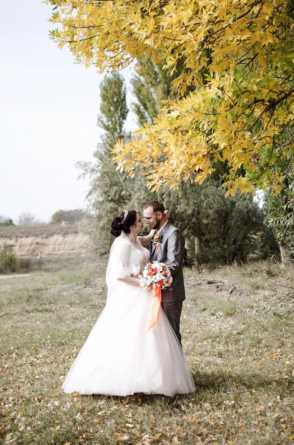 Оранжевая свадьба - фото №43