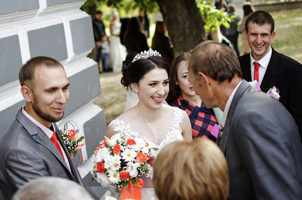 Оранжевая свадьба - фото №29
