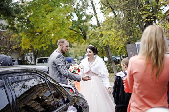 Оранжевая свадьба - фото №1