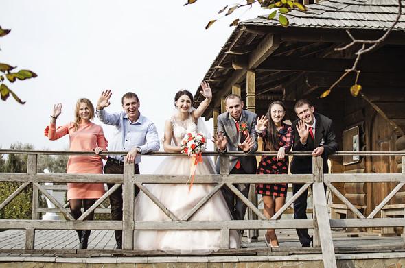 Оранжевая свадьба - фото №71