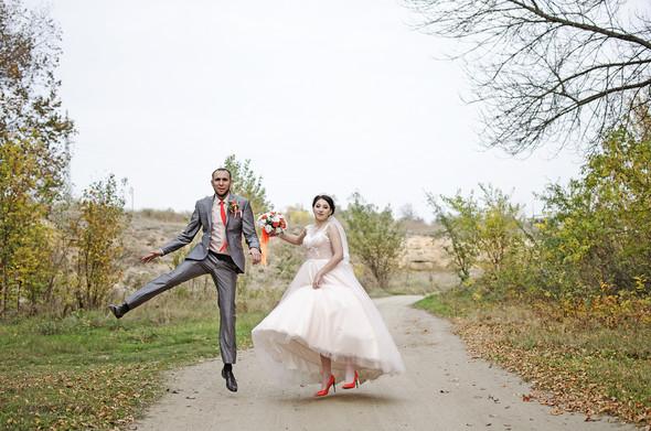 Оранжевая свадьба - фото №60