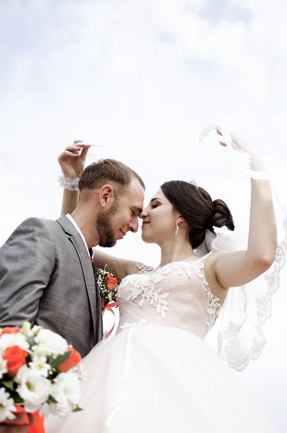 Оранжевая свадьба - фото №56