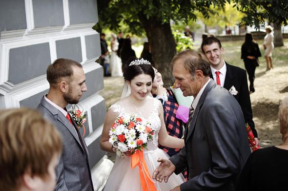 Оранжевая свадьба - фото №28