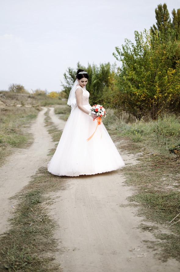 Оранжевая свадьба - фото №59