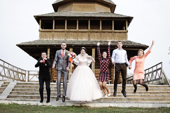 Оранжевая свадьба - фото №75