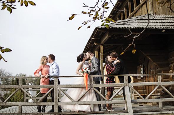 Оранжевая свадьба - фото №73