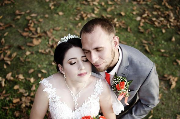 Оранжевая свадьба - фото №78