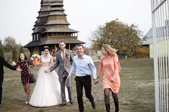 Оранжевая свадьба - фото №82