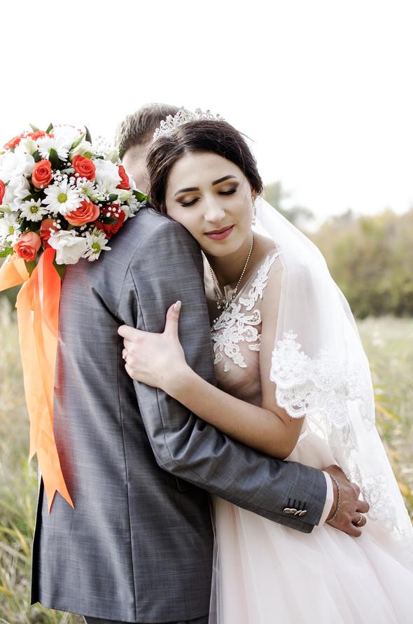 Оранжевая свадьба - фото №44