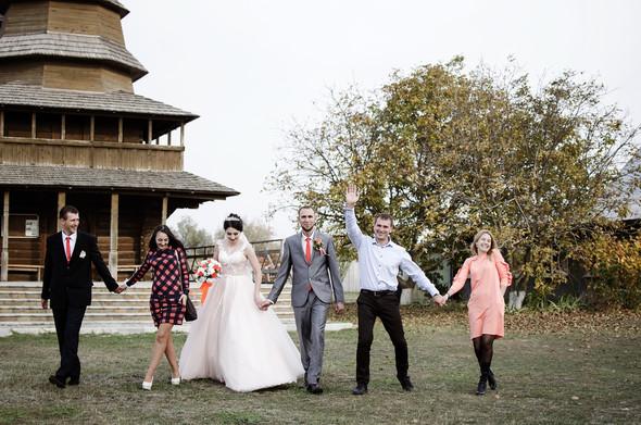 Оранжевая свадьба - фото №79