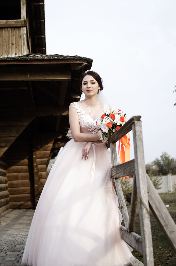 Оранжевая свадьба - фото №77