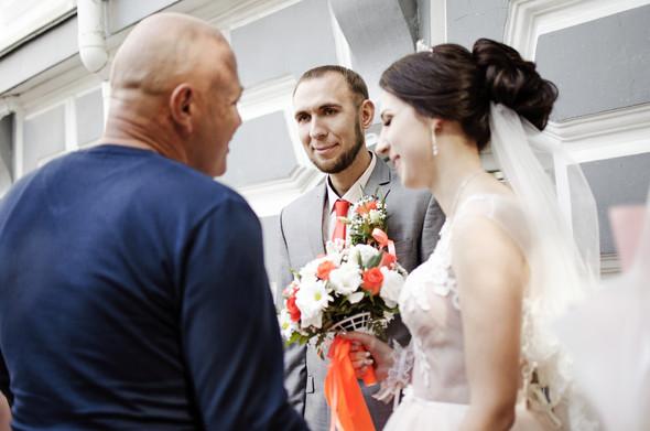 Оранжевая свадьба - фото №33