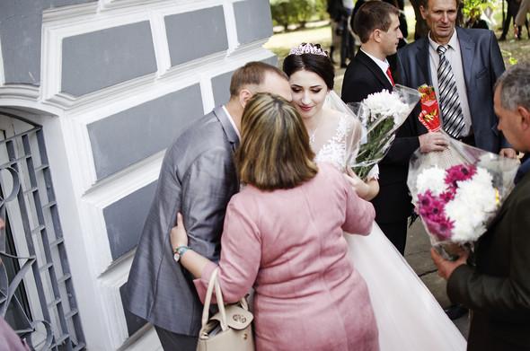 Оранжевая свадьба - фото №26