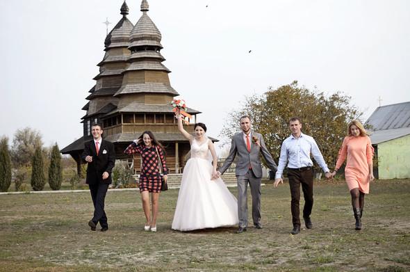 Оранжевая свадьба - фото №81