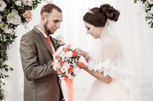 Оранжевая свадьба - фото №18