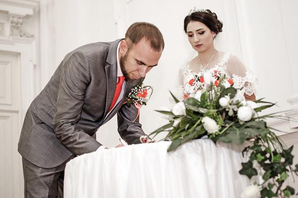 Оранжевая свадьба - фото №20