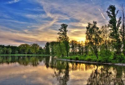 Городское озеро - место для фотосессии в Ивано-Франковске - портфолио 6